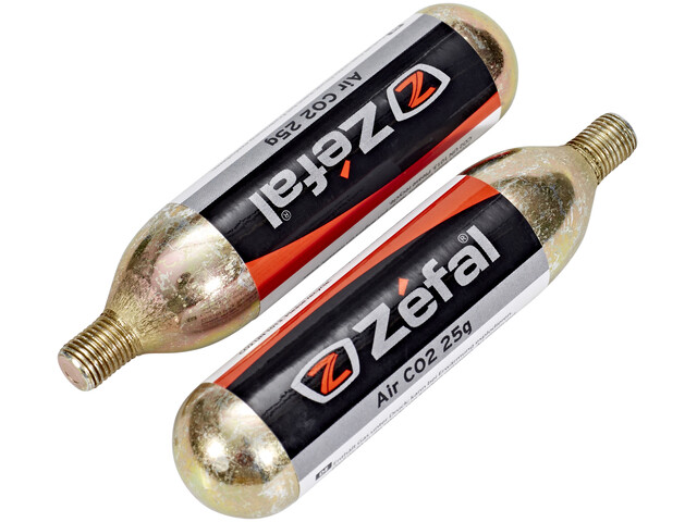 Zefal Replacement cartridge With thread 25g 2er Blister silver